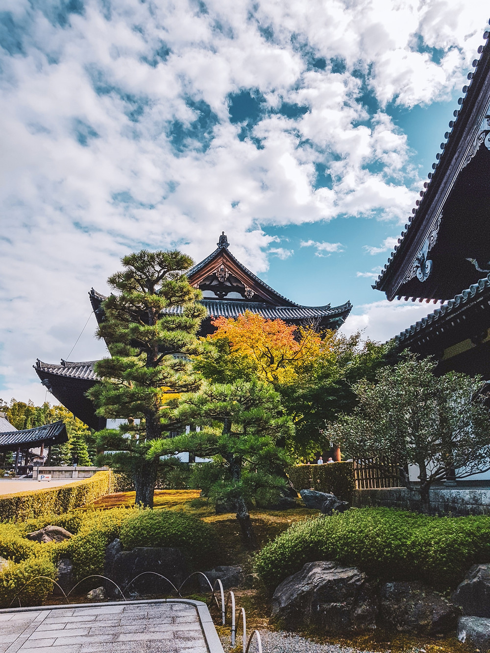 japan autumn sky fall autumn castle