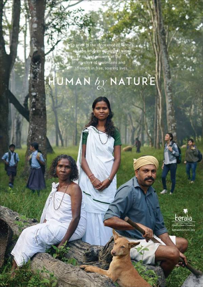 kerala tourism human by nature