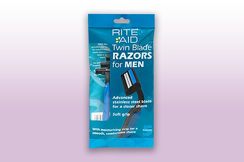 Rite Aid Disposable Razors for Men 5pk