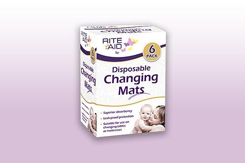 Rite Aid Changing Mats 6pk