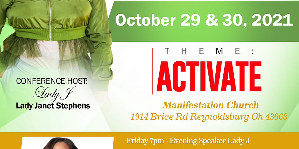 Jewels Conference 2021 ~ ACTIVATE!!!