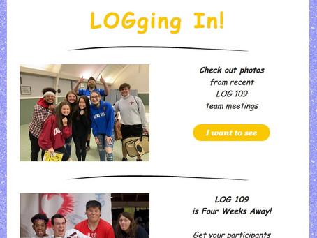 LOGging In! 4/26/21