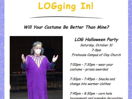 LOGging In! 10/28/20