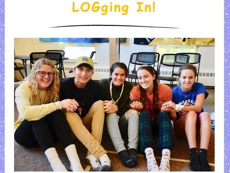 LOGging In! 12/10/19