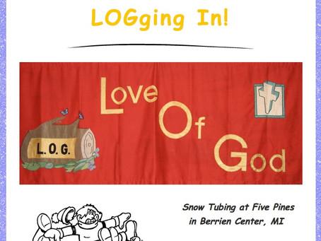 LOGging In! 1/27/21