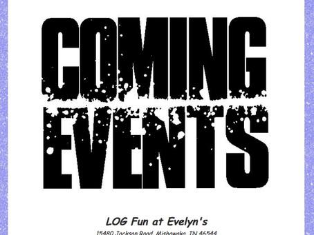 LOGging In! 6/13/21