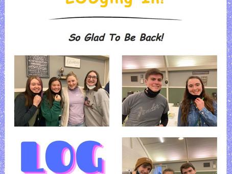 LOGging In! 3/18/21