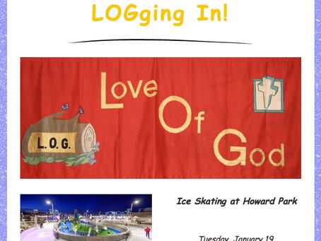 LOGging In! 1/15/21