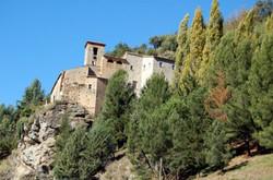Convento vista dal basso dela rocca