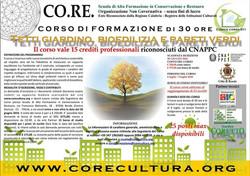 Corso Tetti Giardino, Bioedilizia e