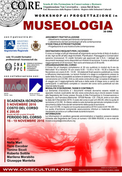 museologia 2016