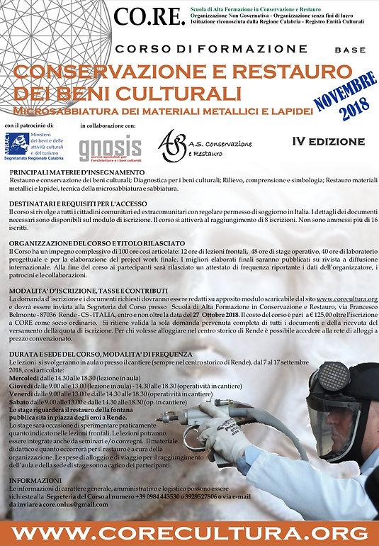 novembre locandina Beni culturali_2018 I