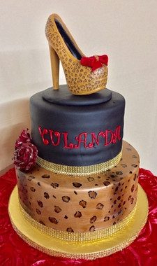 Cheeta Shoe cake.jpg