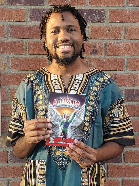 Euwarnii Hughes Author and Creator of BO