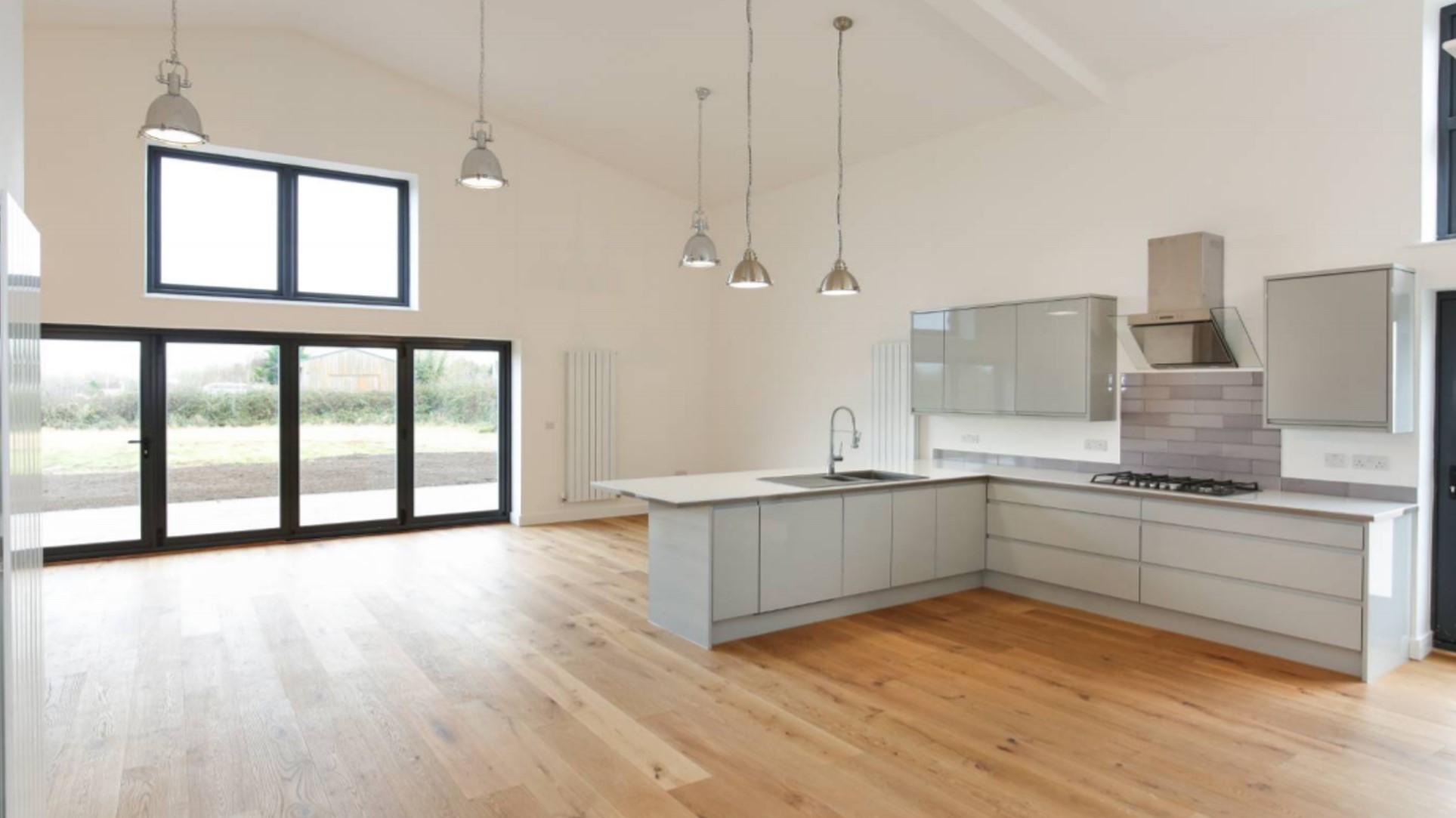 Barn Open Plan Kitchen
