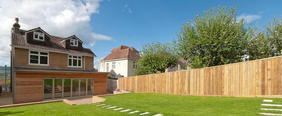 Contemporary extension designs in Frome