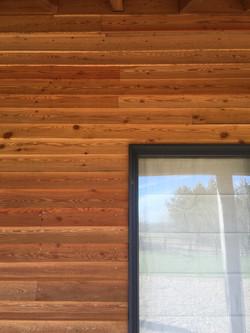 Timber Cladding Detail