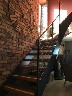 Staircase Design In New Dwelling