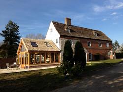 Oak Extension To Farmhouse