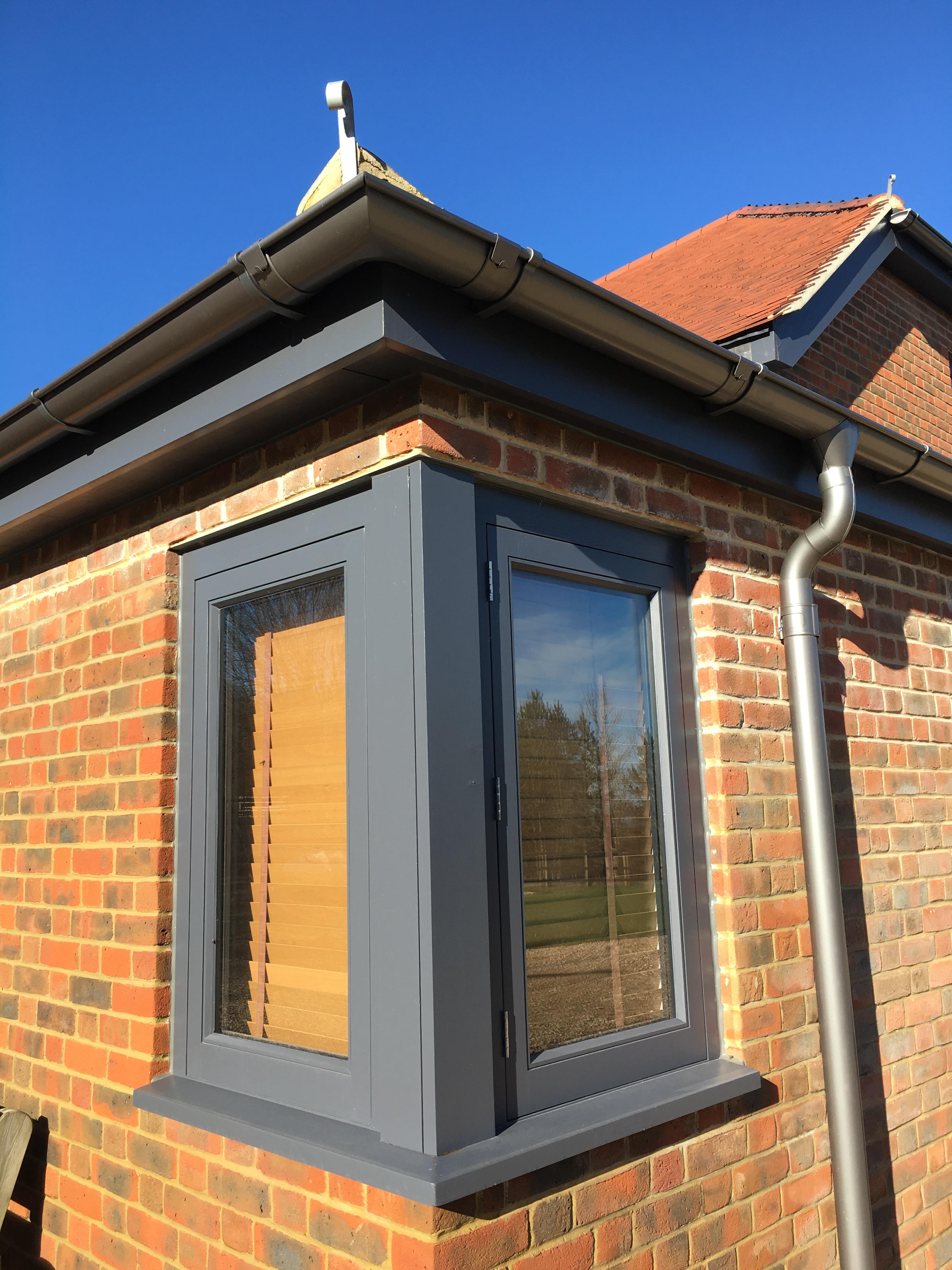 Corner Glazing Detail