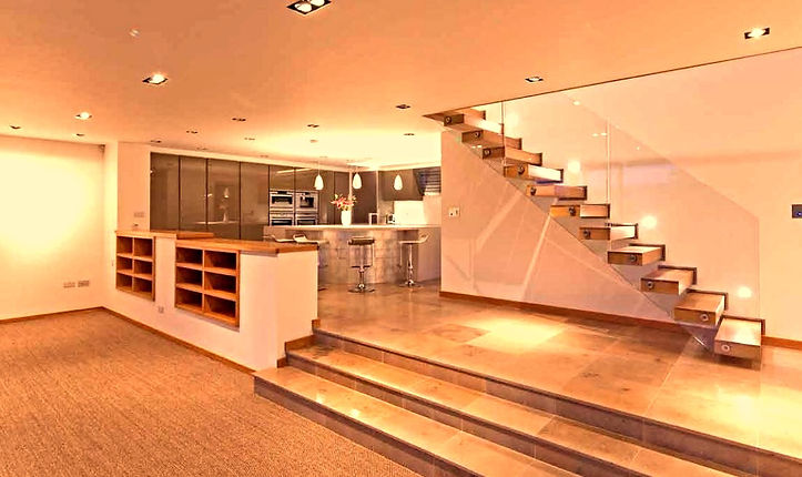 Contemporary Kitchen & Staircase DESIGN EXTENSIONS BRISTOL