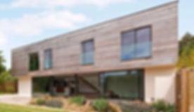 Modern new build architects self build cardiff