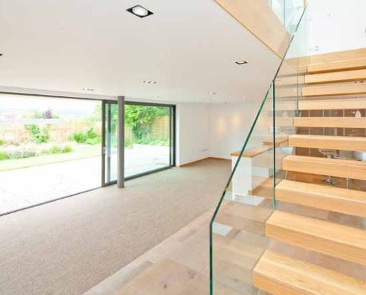 Glazed Balustrade Design
