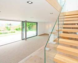 Glazed Balustrade Design