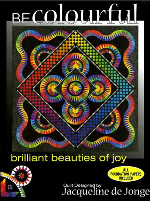 Brilliant Beauties of Joy Pattern by Jacqueline De Jonge