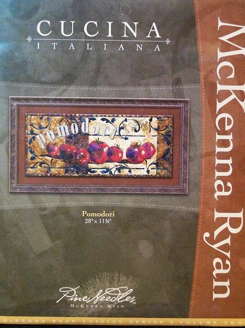 Cucina Italiana, Pomidori, Block #4, McKenna Ryan Pattern