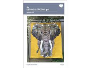 """""""Purple"""", Elephant Abstractions Purple Fabric Quilt Kit, with Violet Craft P"""