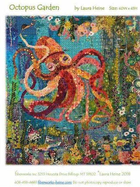 Octopus Garden, Collage Patterns, by Laura Heine