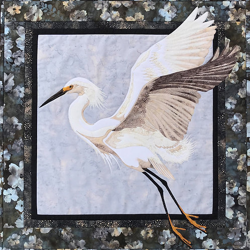 Snowy Egret by Toni Whitney