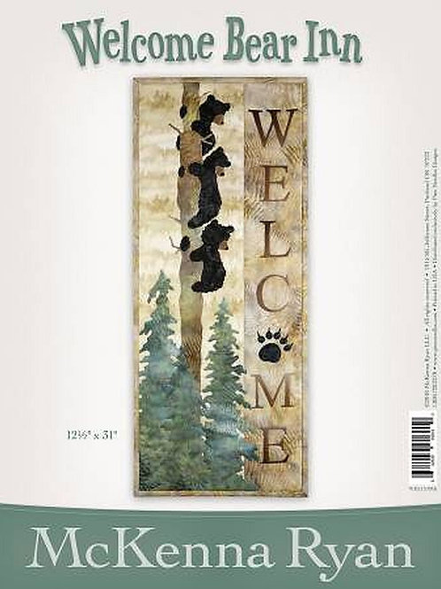 Welcome Bear Inn, Laser Cut Kit, By McKenna Ryan