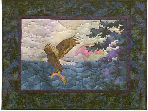 Rythm of the Sea, Sunset Sonata, Pattern, by McKenna Rayn.