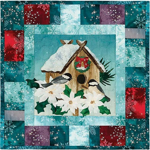 Season's Tweetings, Nestled in for the Holiday, Pattern By McKenna Ryan