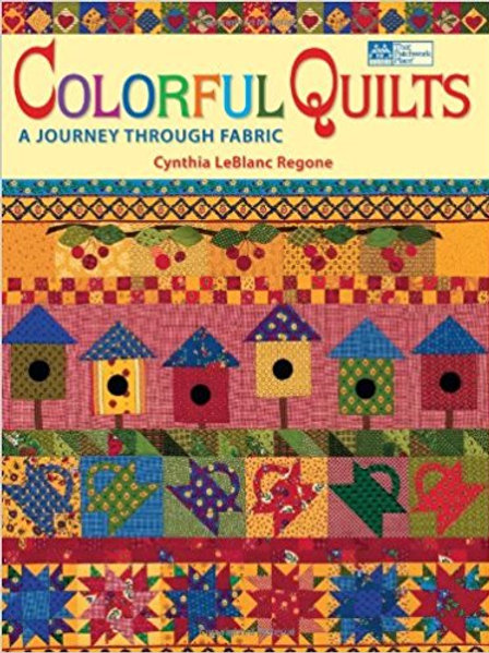Colorful Quilts, book, A journey through fabric.