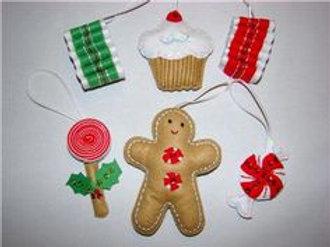 Sugar Plum Fairy Felt Ornament Kit by Bucilla Plaid