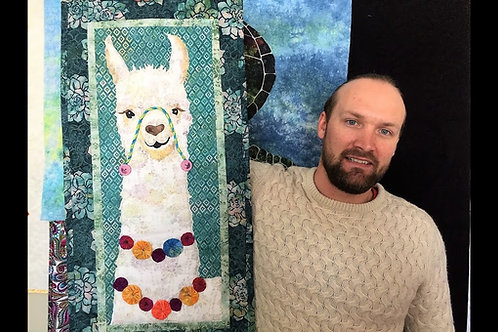 Alejandro, Quilt Pattern, By McKenna Ryan, The Lama