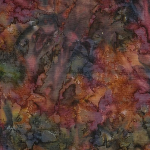 Bali Batik Rust Rich Browns 1M X 1Y
