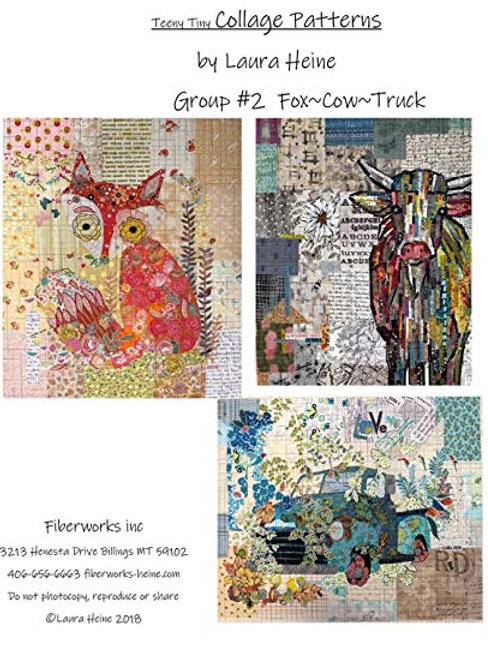 Teeny Tiny Group #2 Collage Patterns by Laura Heine