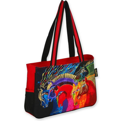 Wild Horses of Fire Tote Handbag Purse Bag by Laurel Burch