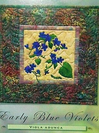Petals of my Heart, Early Blue Violets Pattern, by McKenna Ryan