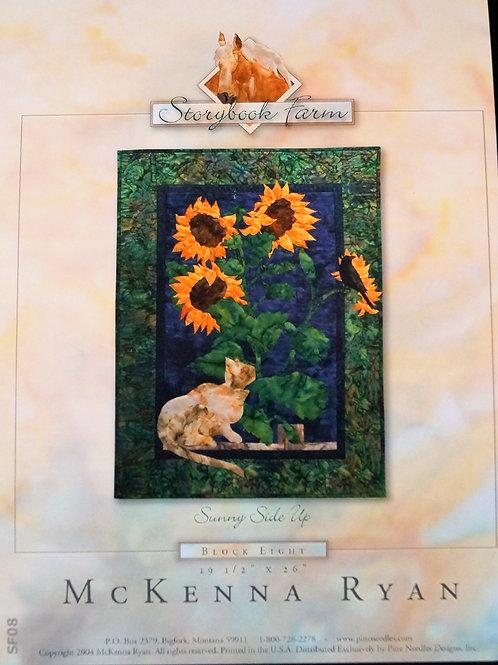 Storybook Farm, Sunny Side Up, Block #8, McKenna Ryan Pattern.