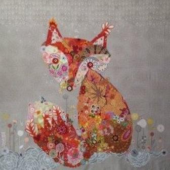 Freida Fox Collage Pattern by Laura Heine
