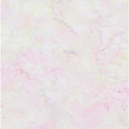 Bali Batik Delicate Soft white & Pink 1M X 1Y