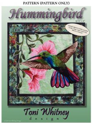 Hummingbird Pattern by Toni Whitney