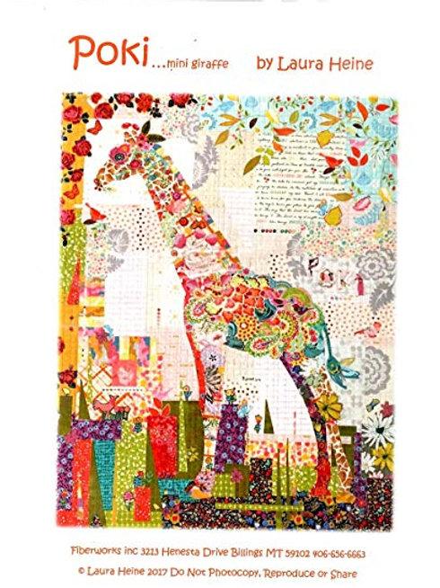 Poki mini Giraffe Pattern, By Laura Heine