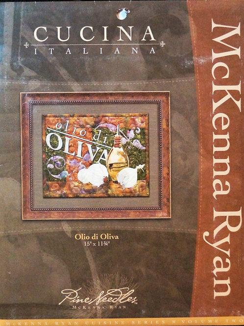 Cucina Italiana, Olio di Oliva, Block # 3, McKenna Ryan Pattern