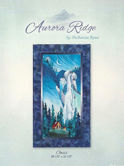 Oasis From Aurora Ridge Quilt Pattern, By McKenna Ryan
